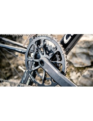 Cannondale HollowGram Si chainset with compact  50/34 gearing