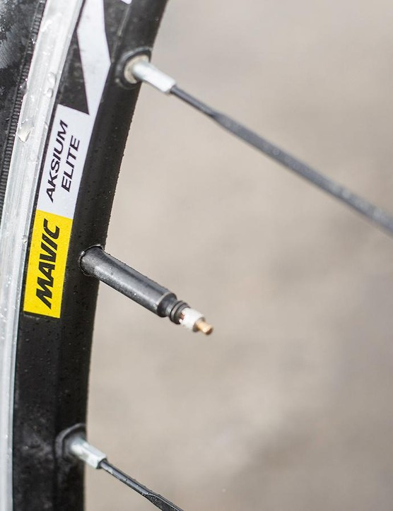 The Mavic rolling stock is adequate rather than amazing, but doesn't detract from a quality overall package