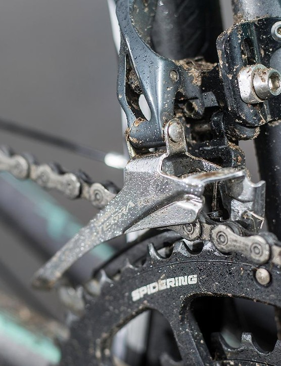 The Ultegra drivetrain performed as impeccably as ever