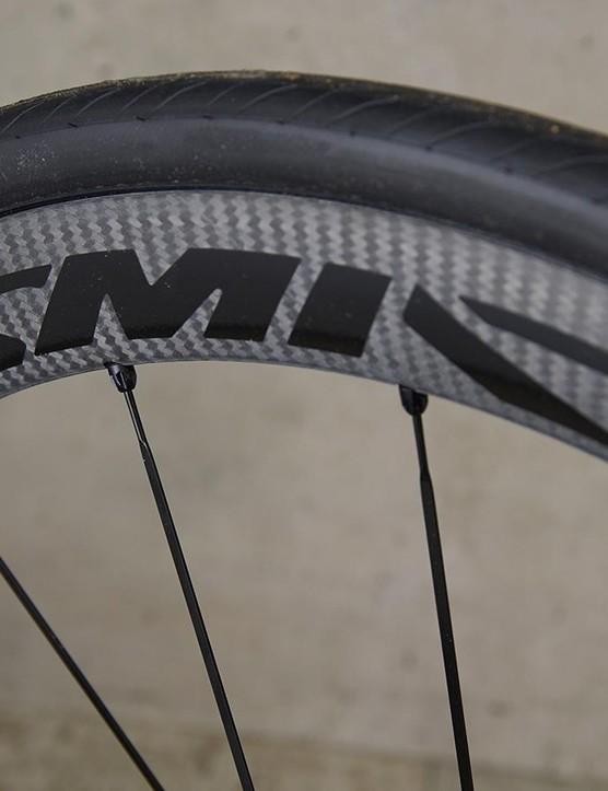 Mavic's Cosmics are very good wheels but are susceptible to sidewinds