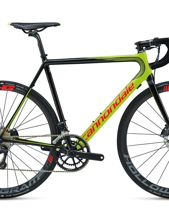 The Cannondale SuperSix Evo HM Disc