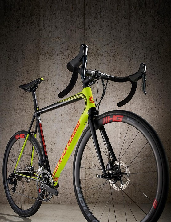 Cannondale didn't just tweak the exisiting frame, it went through a total redesign