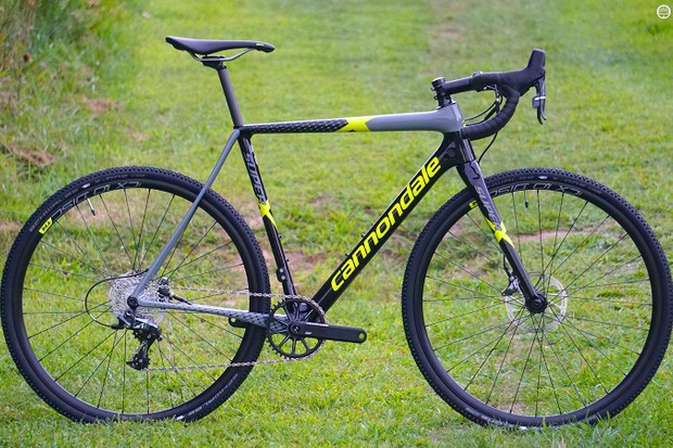 The SuperX Force 1 is a lean race machine developed with feedback from the Cyclocrossworld.com CX team