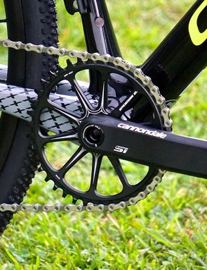 The idea of maximum stiffness is certainly welcomed in CX and hopefully the Hollowgram SI cranks deliver