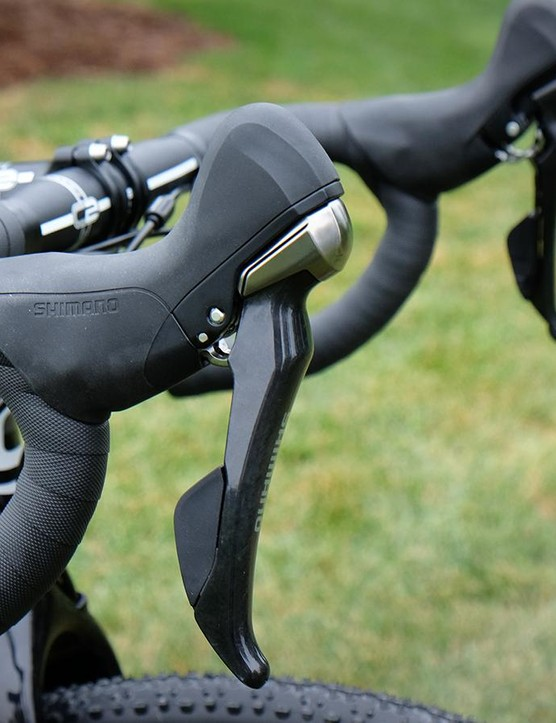 The Ultegra drivetrain and brakes are solid performers