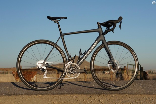 Cannondale's Synapse Carbon Disc Dura-Ace delivers a surprisingly smooth ride at a great price