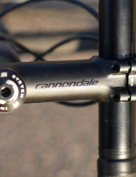 Cannondale house-brand parts are everywhere