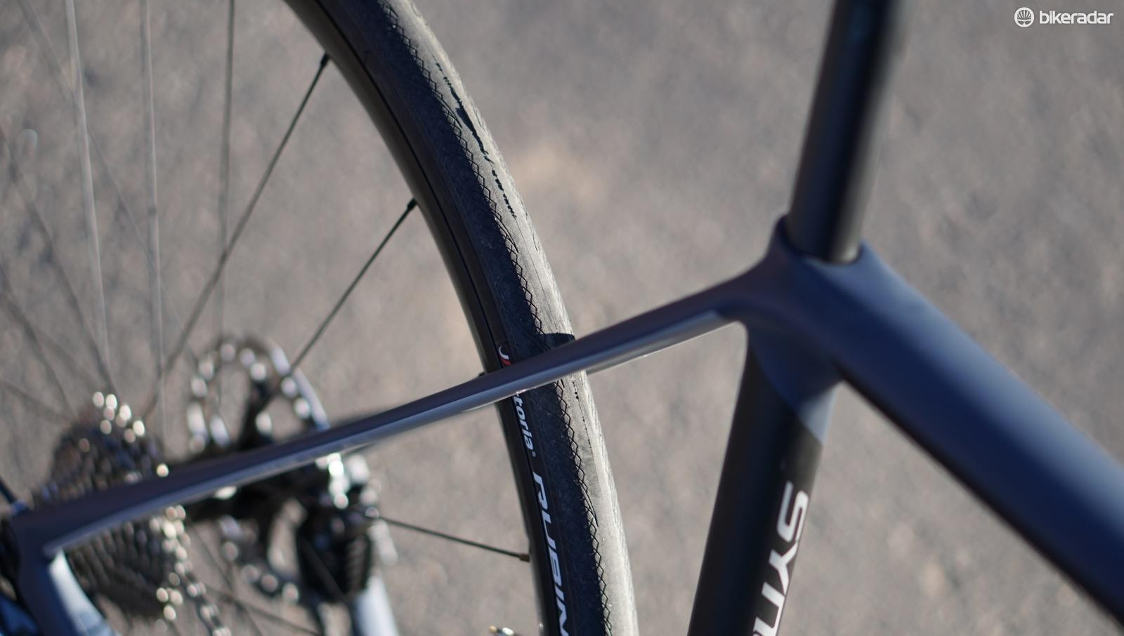 Cannondale doesn't have a monopoly on skinny seatstays, but that doesn't make them any less effective at soaking up bumps