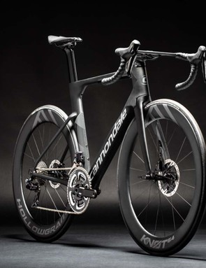 The new SystemSix is Cannondale's first aerodynamic-optimised road bike