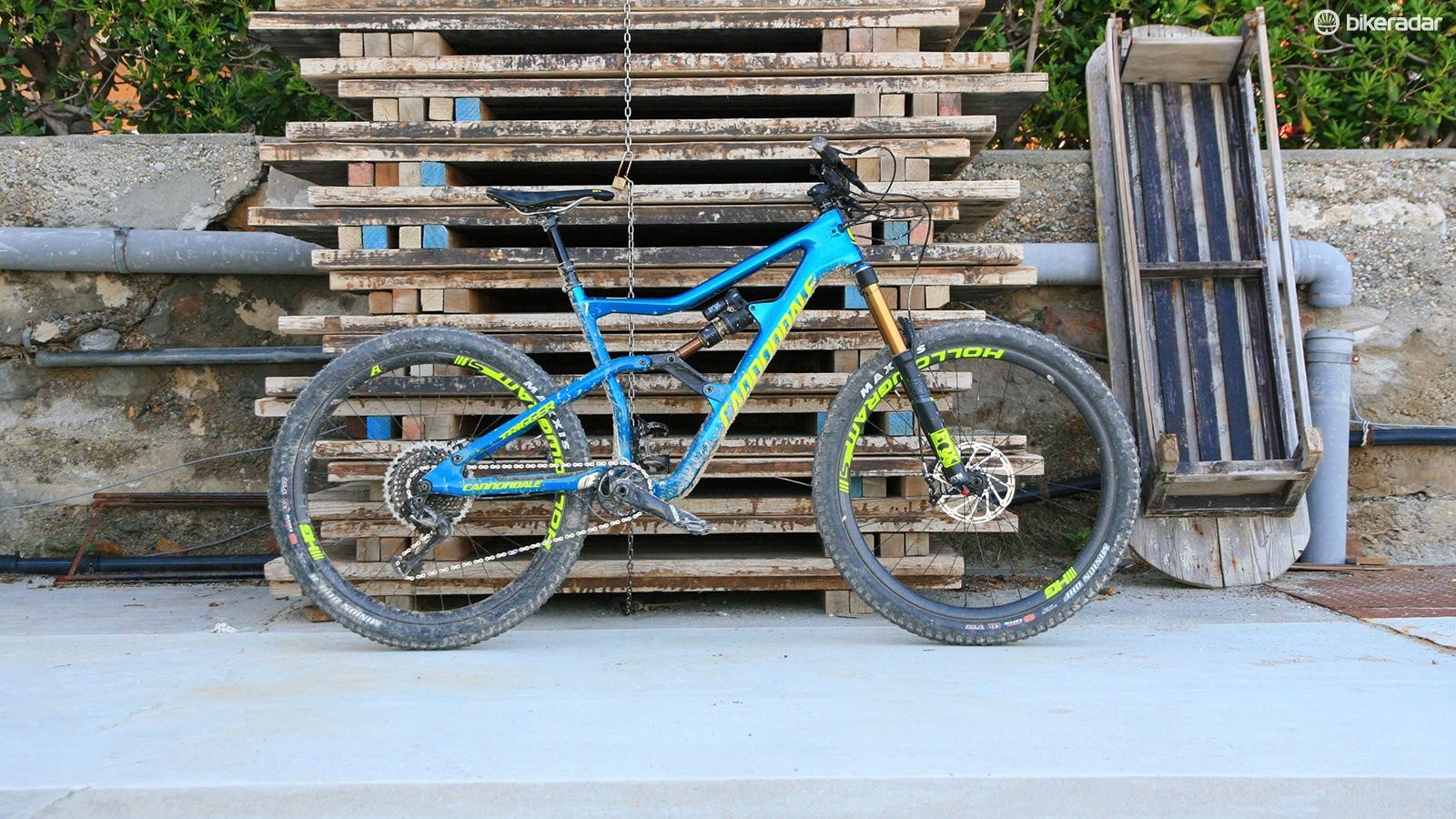 The 145mm travel Trigger is an all-day rider's trail bike