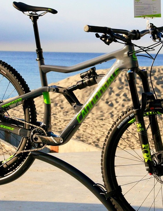 The Trigger Carbon 2 has Performance Elite level suspension