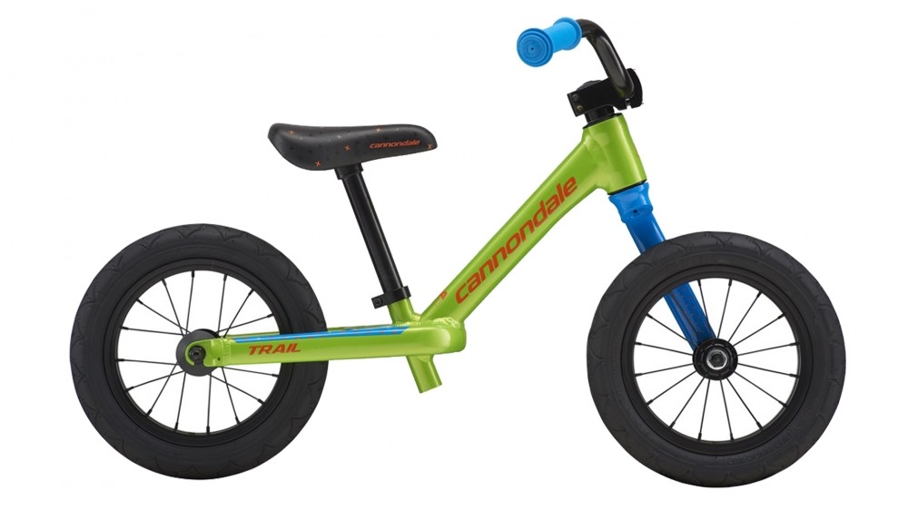 The instantly recognisable Lefty fork is good to see on a kids bike