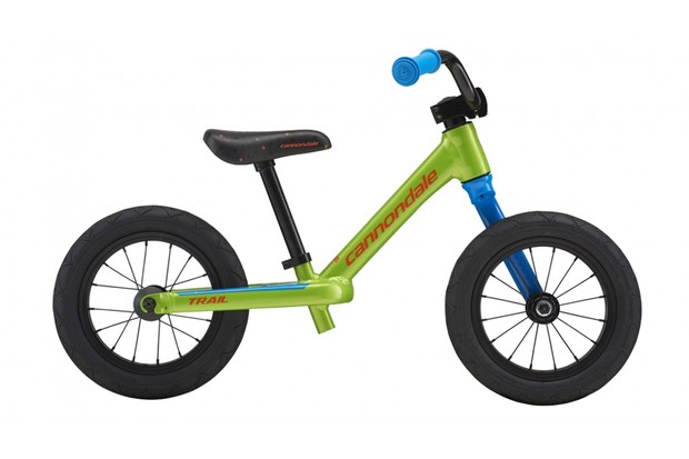 The instantly recognisable Lefty fork is good to see on a kid's bike