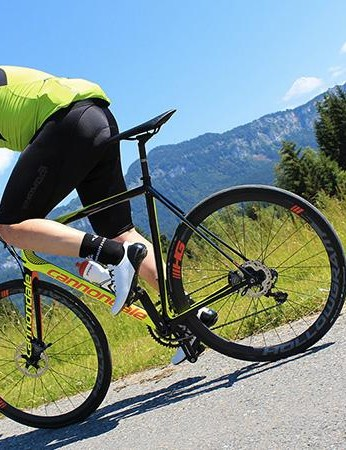 The disc EVO is keen to get cracking and loves to stay at high velocity