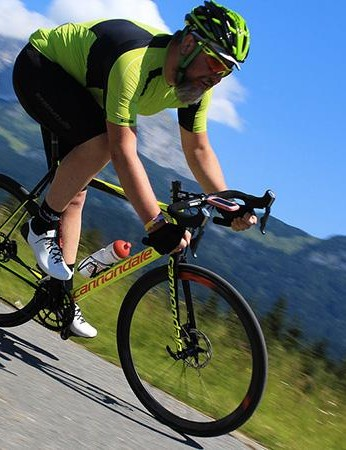As expected, the disc-equipped EVO really comes into its own on the downhills