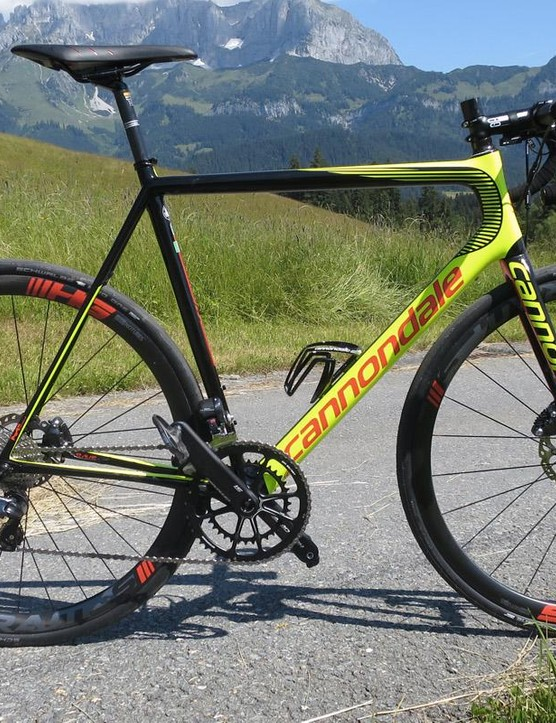 Cannondale's SuperSix EVO Hi-Mod Disc will be ridden by Cannondale-Drapac at the Ruta del Sol in Spain next month
