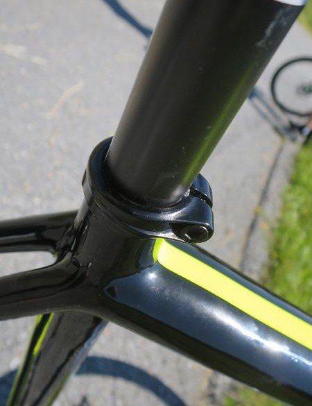 The EVO Disc carries over the slender 25.4mm post from the standard EVO