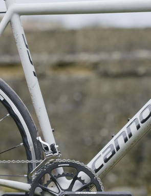 The EVO's ground-up redesign results in a 'system' weight (that's frame, fork, headset and seatpost) of just 1,303g