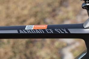 The Aeroad platform ranges from a $3,499 Ultegra rim bike to a $9,000 rim bike with Dura-Ace Di2 and Zipp NSW wheels. This Ultegra disc bike is $3,899