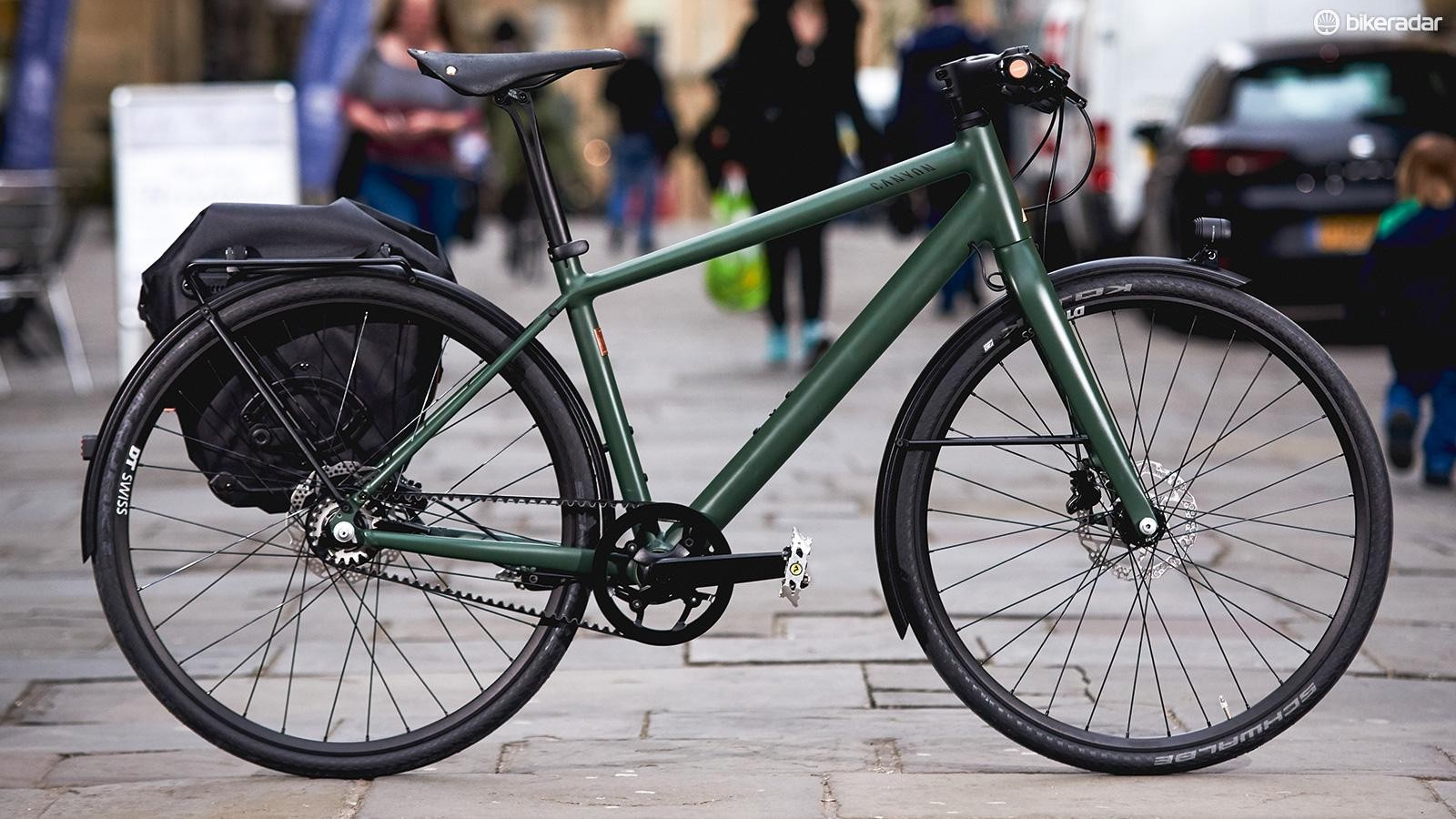 Canyon's Commuter Brooks 150