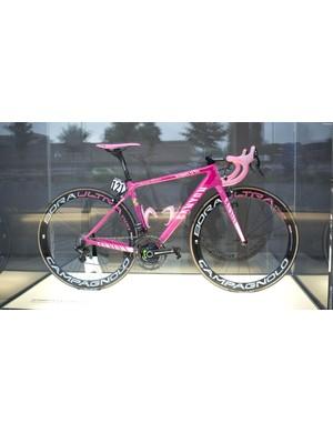 This is Nairo Quintana's 2014 Giro d'Italia-winning Ultimate CF SLX