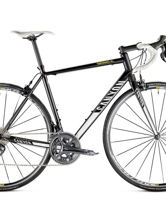 The Canyon Endurace AL 6.0 is the most bike you can get for one thousand pounds