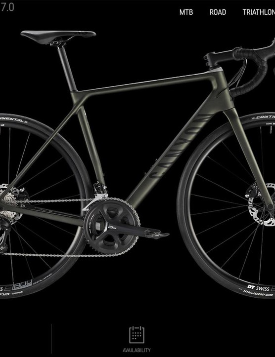 Canyon has made a name for itself by offering performance bicycles at competitive prices
