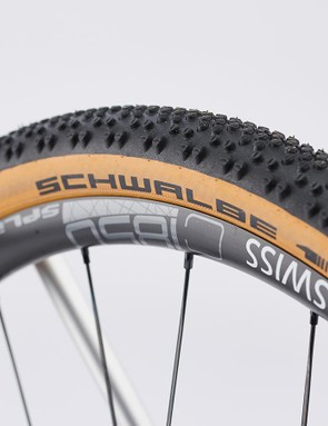 The Grail is fitted with 40mm Schwalbe G-One Bite tyres
