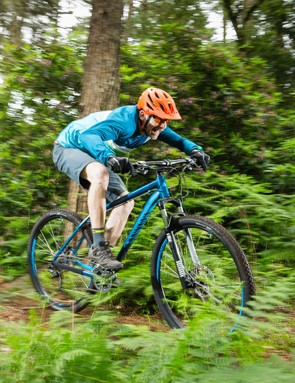 If you're into swooping singletrack rather than technical terror, then this bike will be right up your street