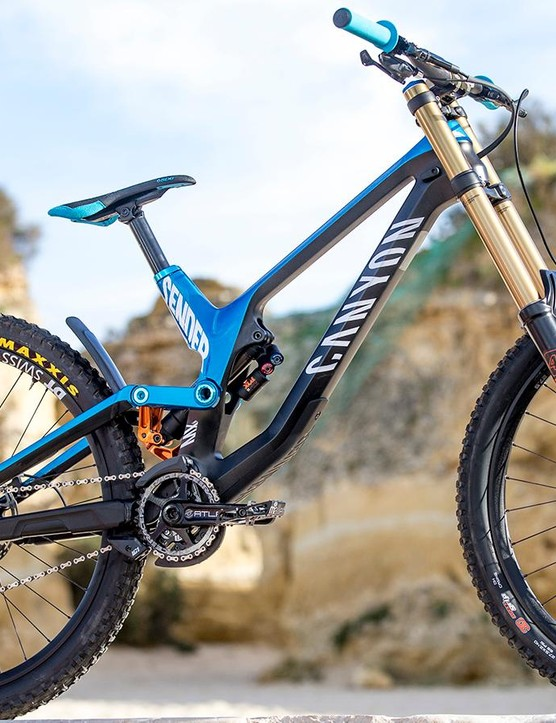 Canyon has unveiled its all-new downhill rig, and we think it's a cracker