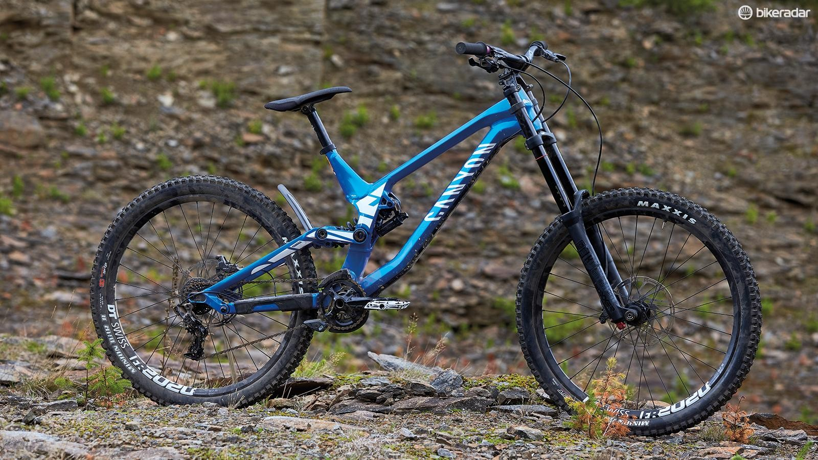 This complete bike costs less than some DH frames but offers a great ride