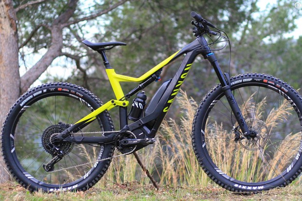 The Spectrail:On is Canyon's first e-MTB