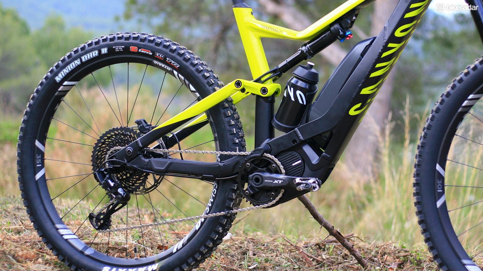Canyon Spectral:ON first look - BikeRadar