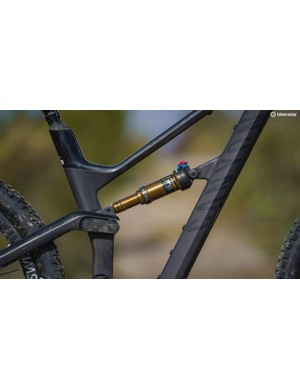 The Fox Factory Float DPS Evol shock has a lighter tune to suit lighter riders