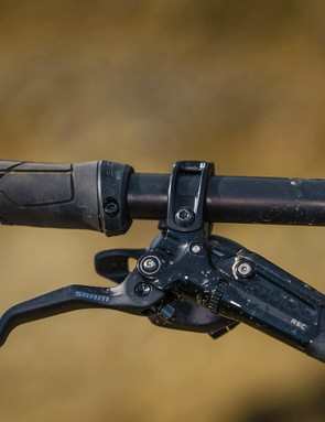 SRAM Guide RSC brakes provide powerful braking with plenty of adjustability