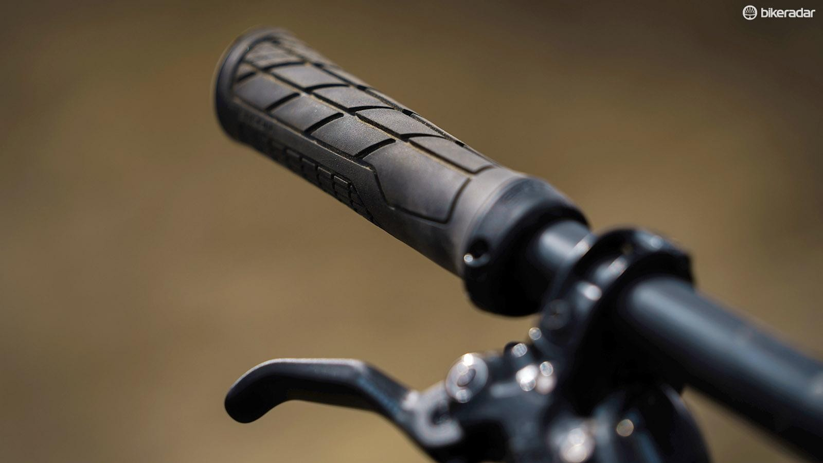 Ergon grips proved very comfortable on long rides