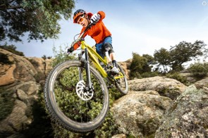 The Canyon Spectral CF 8.0 EX is a contender for the top spot in our Trail Bike of the Year awards this year