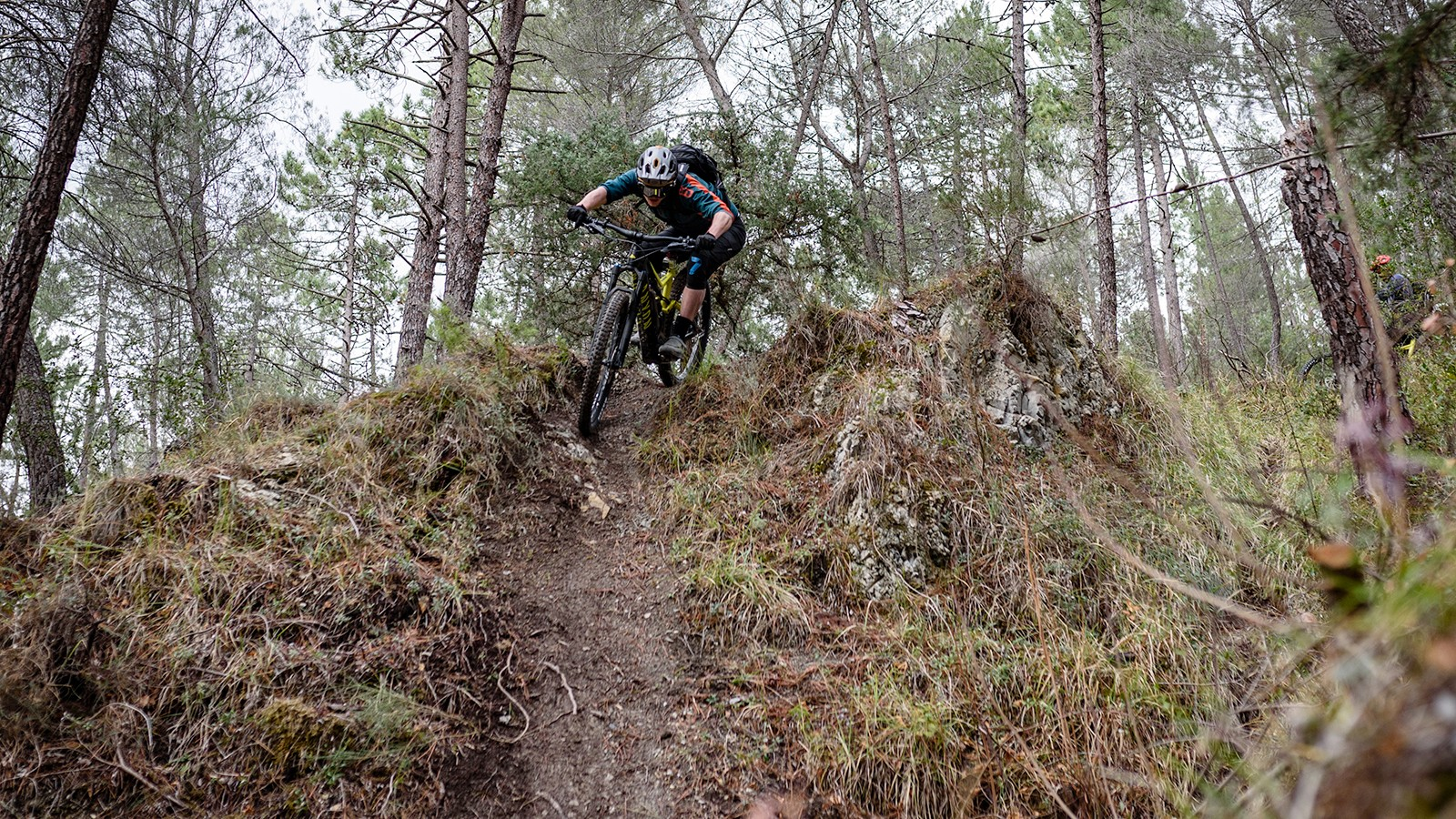 The trails round Fabian Barel's village are as varied as they are incredible – a great test location for the bike