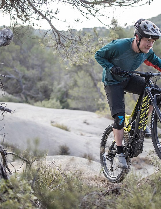 Shimano's motor balances power and torque well for steep climbs on loose surfaces