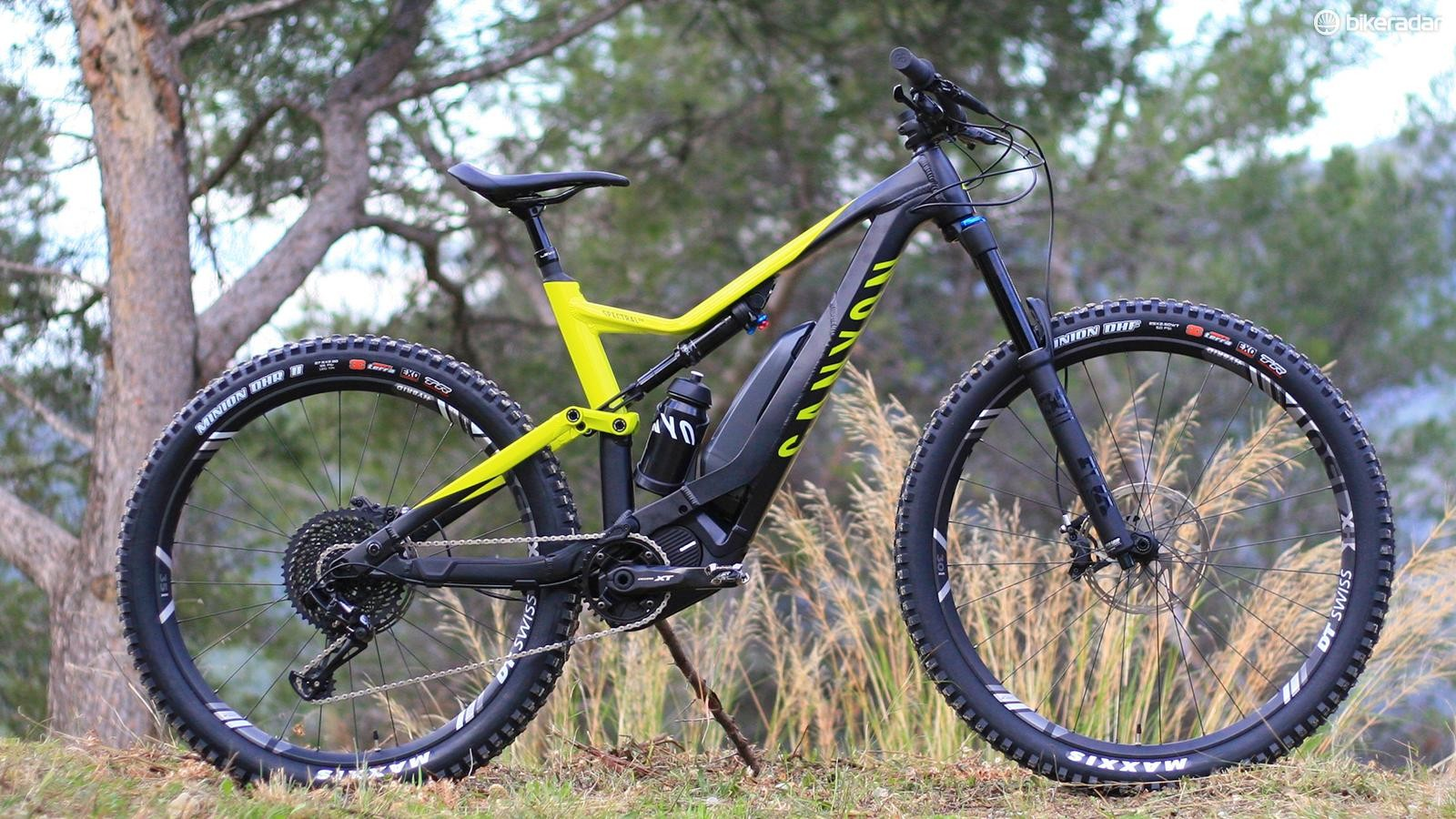 The Canyon Spectral:ON will let you surmount any slope
