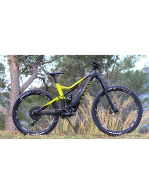 The Spectral:On is Canyon's first e-MTB