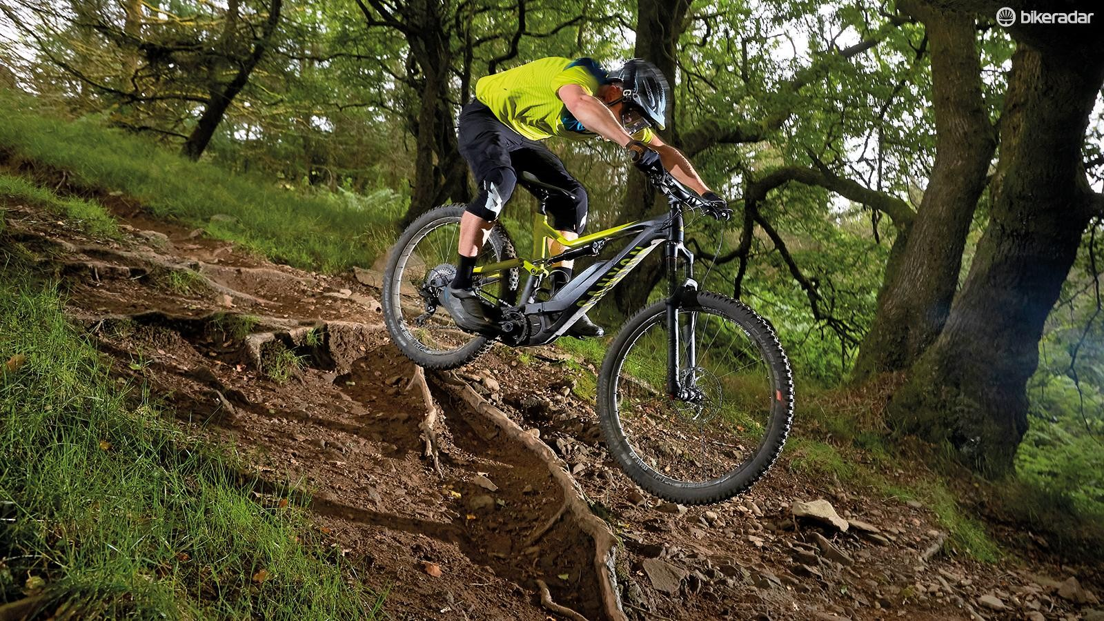 The Spectral:ON suspension system is supple where needed and supportive when things get rowdier