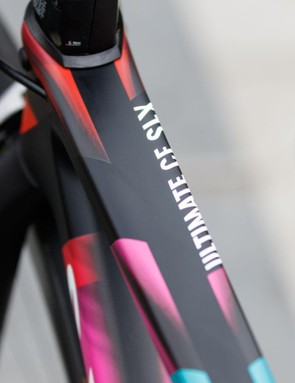The new Canyon Ultimate CF SLX was first seen under Columbian Nairo Quintana prior to the 2015 Tour de France