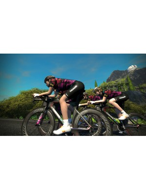 Tiffany Cromwell launched the program during a live training session on Zwift