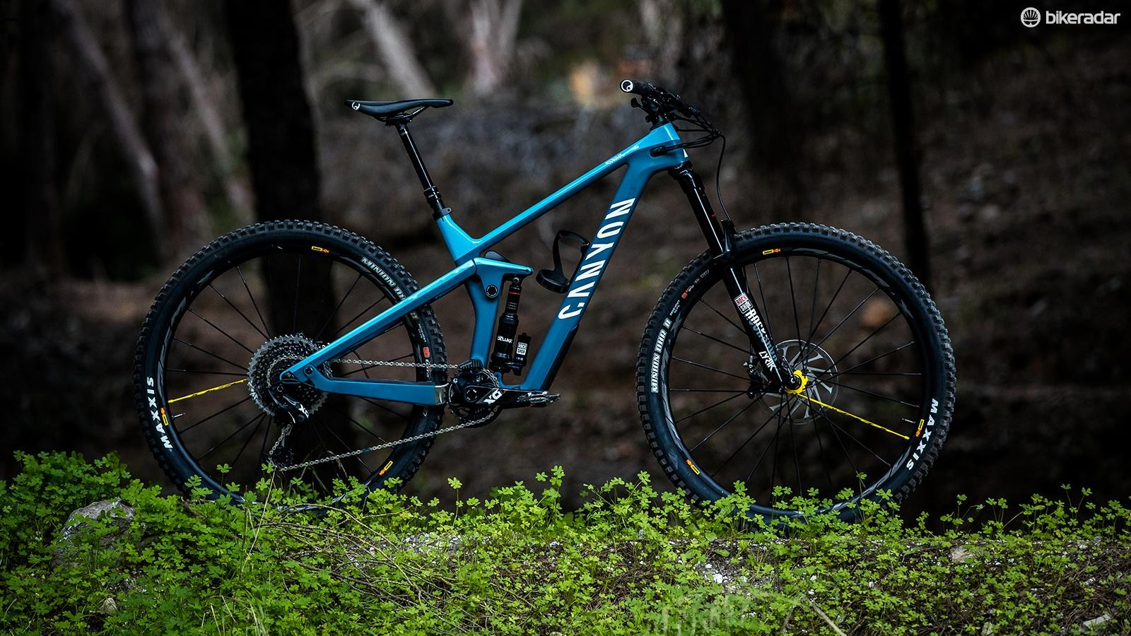 The new 29in Canyon Strive CFR 9.0 Team