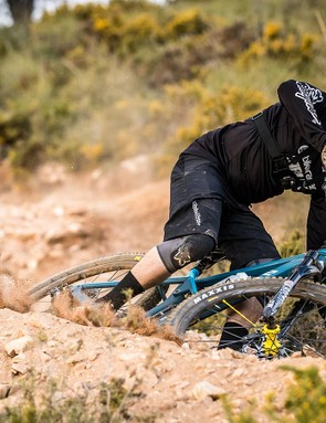 Loose turns provide a good testing ground to find out how well balanced the new Strive is