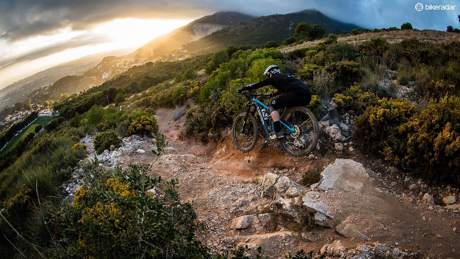 The Strive breeds confidence and will allow you to handle some pretty intimidating terrain