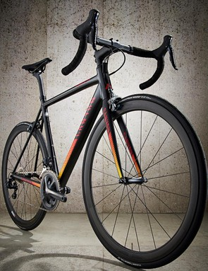 This is one bike that doesn't need to make any apologies for its choice of frame material