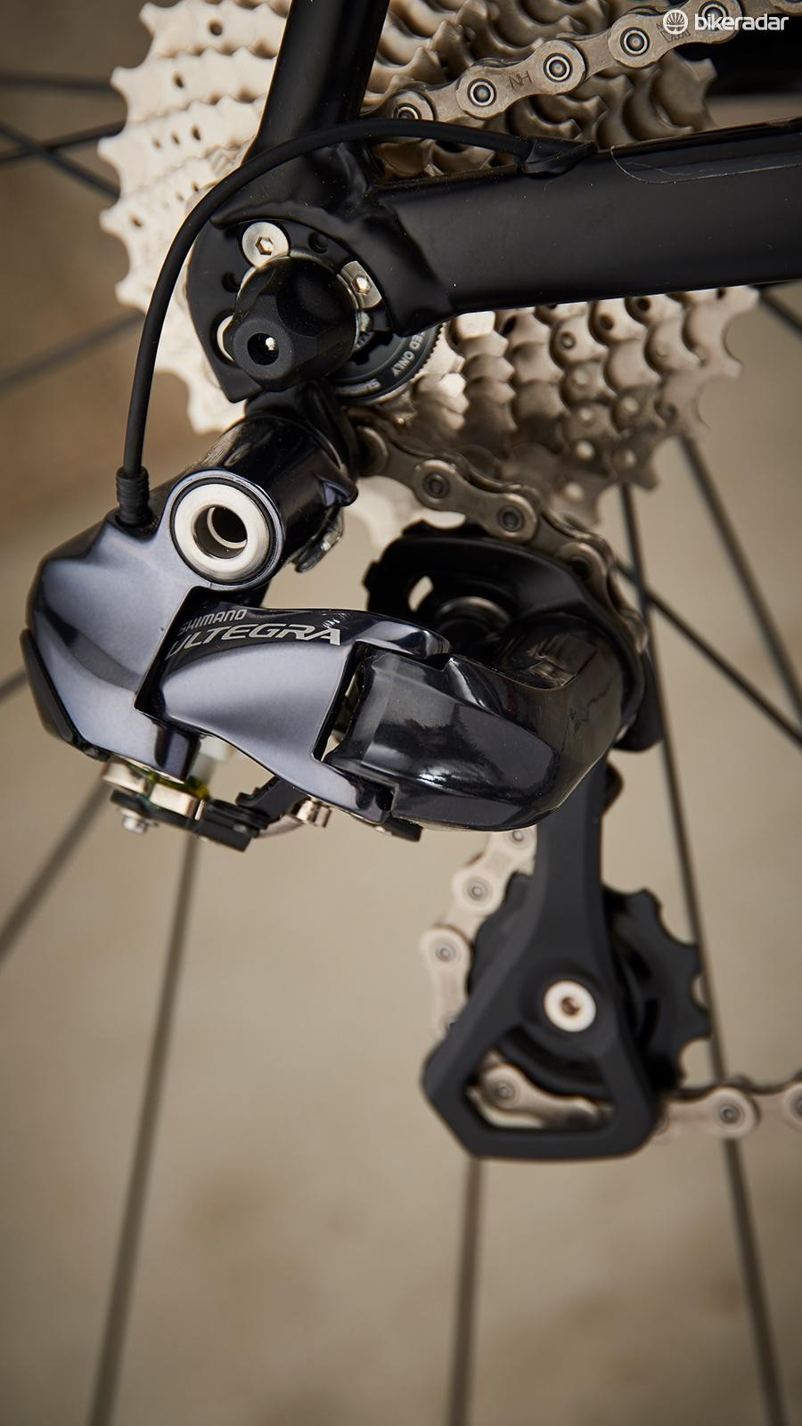 Shimano Ultegra Di2 provides the go
