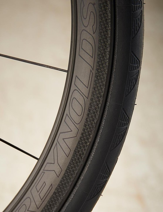 Reynolds Assault wheels add some style and are the nod to the SLX's aero title